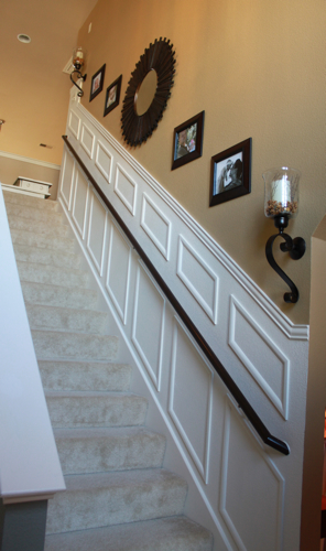 Adding Moulding to Your Staircase Decor Chick Guest Post