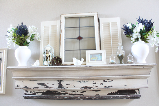How To Decorate A Mantel gorgeous spring mantels {decorate mantel} - home stories a to z