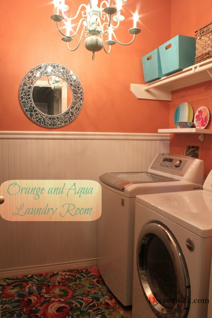 The Laundry Room Makeover Decorchick