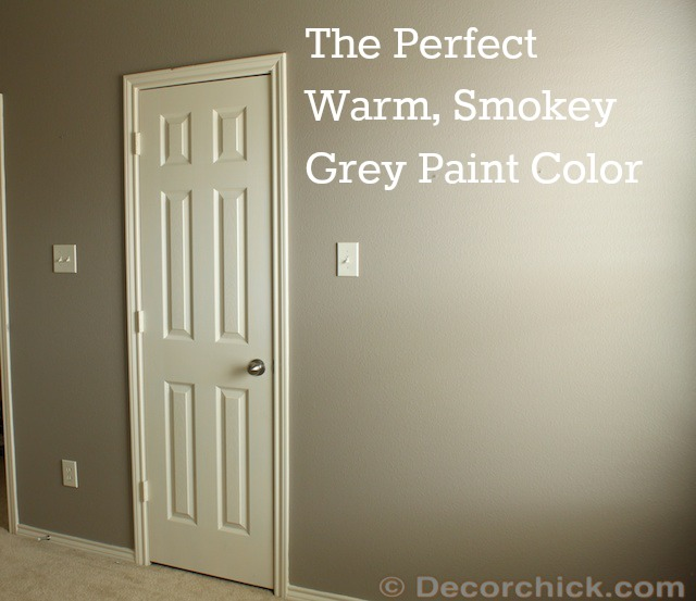 The Perfect Grey Paint Warm Color 640 x 553