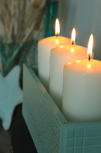 drawer candle holder