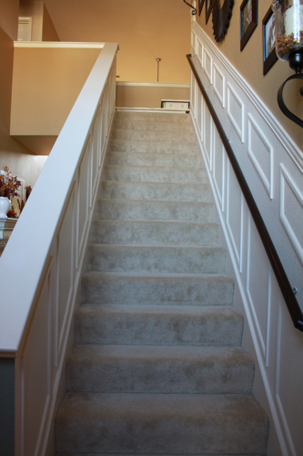 staircase makeover finished diy project